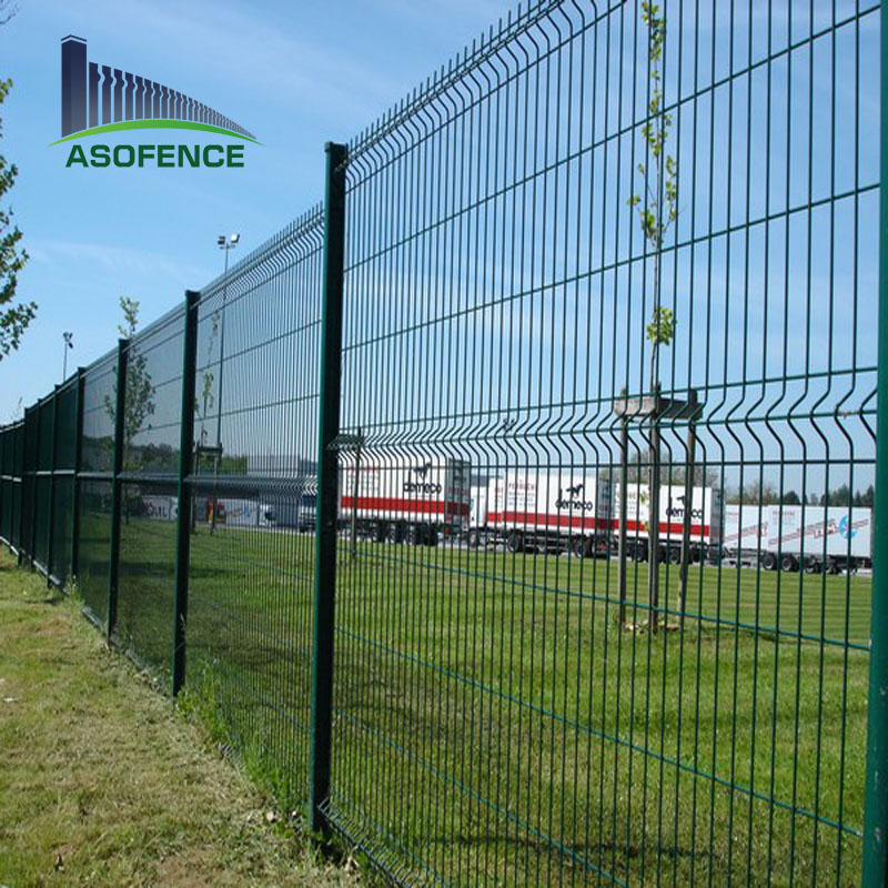 Commercial Galvanized Steel Welded Curved 3d Wire Mesh Fence Buy