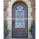 antique italian style wrought iron house back entry doors barn door design