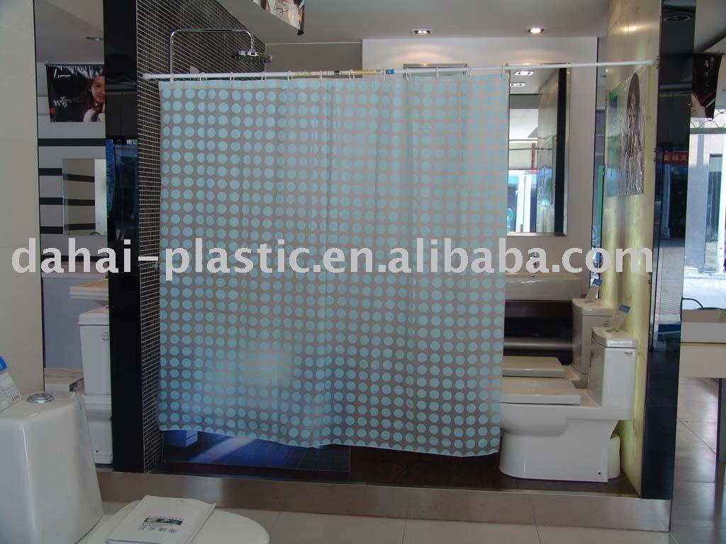 Plastic Film Shower Curtain, Plastic Film Shower Curtain Suppliers ...