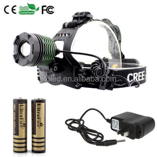 High Power Led Headlamp 10w Xml T6 K12 Rechargeable Led Headlamp + ...
