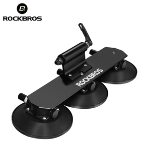 ROCKBROS Wholesale Suction Roof-Top Bike Racks Suction Cup Roof Bicycle Carrier Rack bicycle suction rack