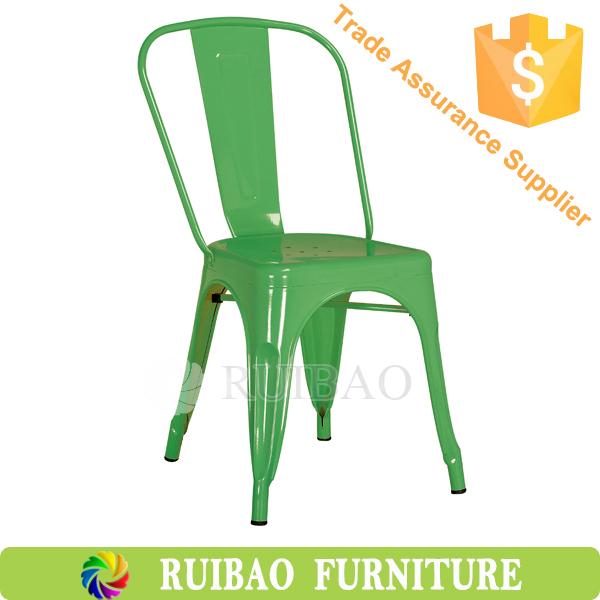 pas cher restaurant meubles couleur industrielle empilable chaise ... - Chaise Metal Industriel Pas Cher