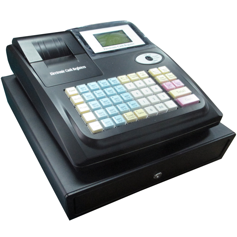 Cash Register With Cash Box 3bills 8coins - Buy Cash ...