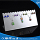 Customized design acrylic latest design make beads necklace display stand