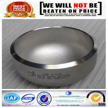 6 Inch Large Steel Pipe Fitting End Cap