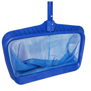 Mesh Deep Bag Heavy Duty Swimming Pool Leaf Skimmer Net - Buy Professional  Swimming Pool Accessories Leaf Rake Equipment,Blue W/frame Plastic Leaves  ...