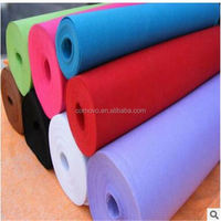 carious colour 800g polyster needle punched nonwoven fabric for phone cases