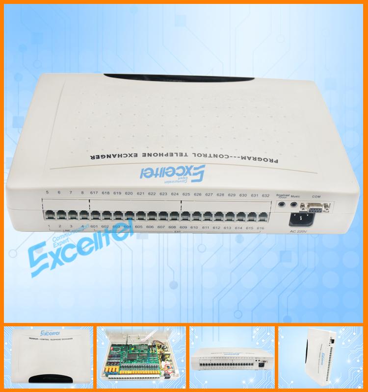Excelltel / Pabx /mini Pbx System /cp832-416/for Hotel Pbx /4 Co ...