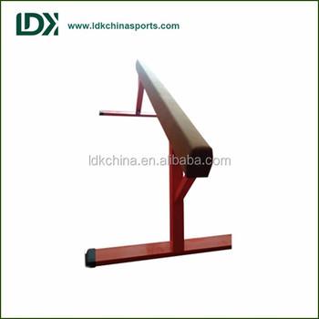 wholesale wooden 5m gymnastics balance beam made in china