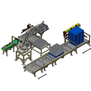 Wholesale High Efficiency Automatic Robot Machine Palletizer for Stacking