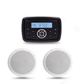 "Diamon 6"" Audio Speakers and radio receiver for Golf Carts"