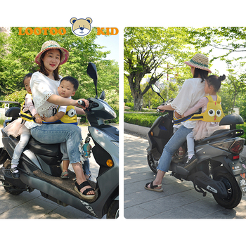 Riding on motorcycle security belt kids / riding motorcycle safety strap children seats belt / motorcycle seat belt for kids