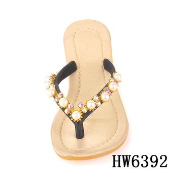 54e1bf0c4da6 hw6392 Wholesale charming stones sandal decorative jewelry chain for women  flip flops shoe