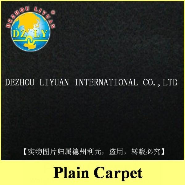 100% polyester non woven eco friendly corridor/auditorium plain carpets
