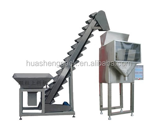 Automatic aluminum bag poultry feed filling equipment