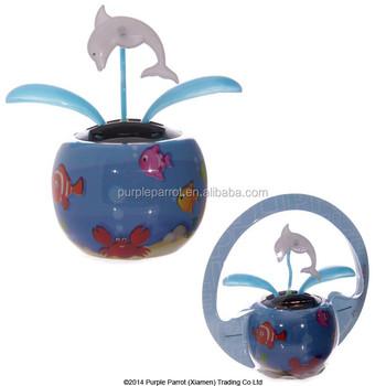 Dolphin Solar Buddy/solar Powered Toys/ Solar Toys For Car ...