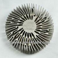 Aluminium Heatsink Flat Aluminum Profile Custom Flexible Heat Sink ...