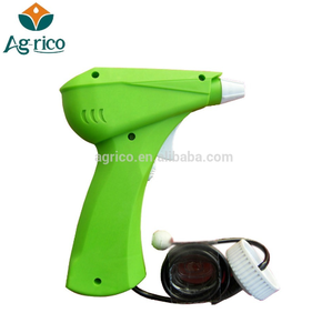 Agrico portable electric battery operated detergent trigger gun sprayer with 1000ml bottle