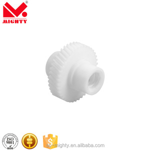 Custom Made OEM Small Double-Spur Plastic Gear In Pom Material