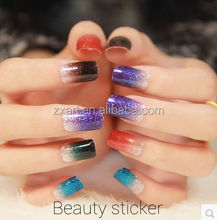 fashion elements 2D wholesale glitter nail sticker art design paw pictures