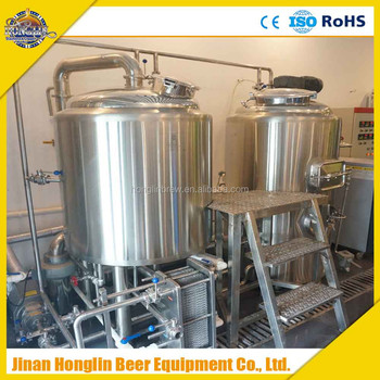 Hot sale stainless steel mash tun fermenter brew kettle for Craft kettle brewing equipment