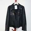 Zipper Design Women Faux Leather PU Motorcycle Jacket