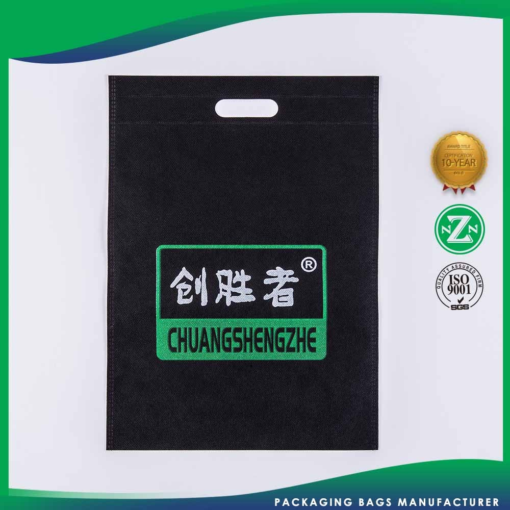 Quality Guaranteed Top Selling Customized Logo Printed Non-Woven Wicker Shopping Fabric Bag For Shopping Bag