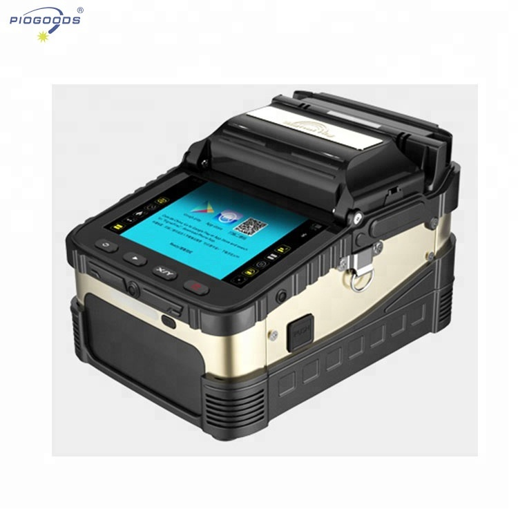 English Version Optical Fiber T60 Fusion Splicer Fiber Equipment Mental Fusion Splicer T60 Auto Heating With Convient Tools Fiber Optic Equipments Communication Equipments