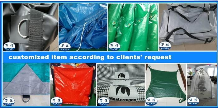 Waterproof Tarpaulin for Truck Cover pvc tarpaulin plastic materials