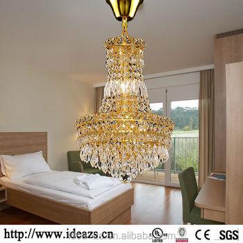 c9010 living room crystal light chandelier crystal champagne color