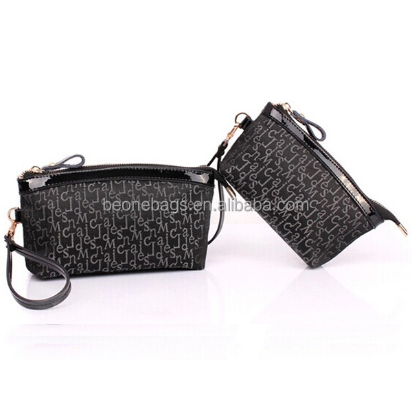 wrist strap Women's Wallet Zippered clutch hand bag purse organizer