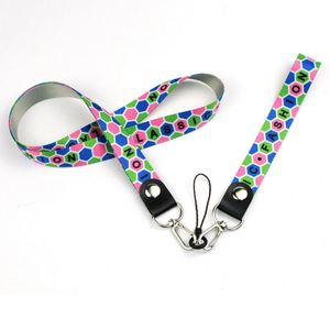 Made In China Silk Screen Printing Plastic Materials Custom Personalize Lanyard