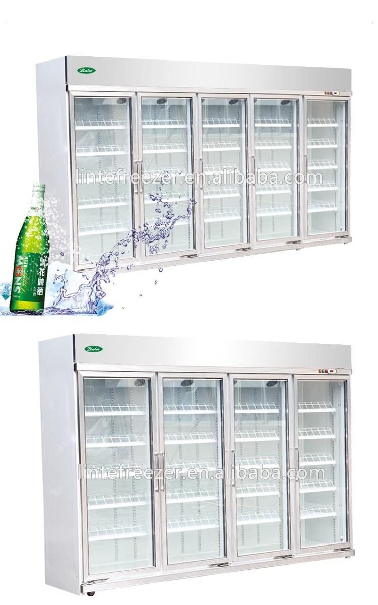 Zhongshan Lintee Supermarkt Stehend Anzeige Kühlschrank/getränke ...