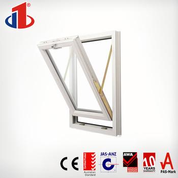 Swing Opening Single Glazed Pvc Bathroom Window And Door Frame With ...
