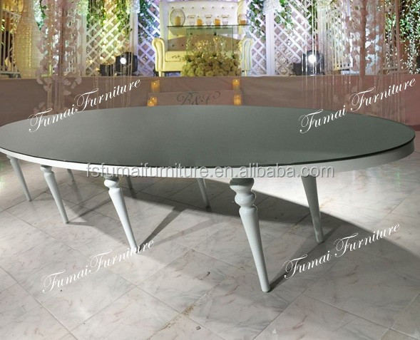 Arrival new model long oval glass top dining table oval for New model dining table