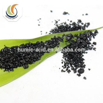 Hot sale Water Soluble particle Fertilizer plus humic acid sodium humic acid used in Stock Farming