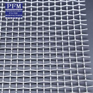 Stainless Steel Plain Woven Crimped Wire Mesh Cloth Supplier