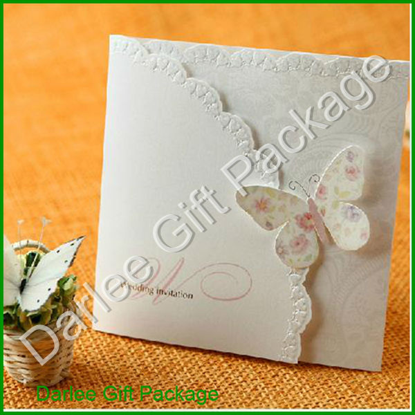 Butterfly Wedding Invitation Cards Indian Wedding Invitation Cards