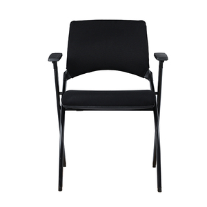 AODA Furniture Folding Plastic Study Chair with Writing Pad Mesh Visitor Chair