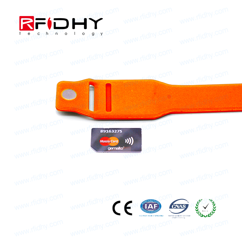 Tear Resistance RFID Insert Wristbands & Cards Manufacturer-HYWGJ801