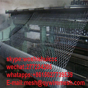 ISO 9001 factory supply hot-dipped galvanized hexagonal wire mesh, diamond wire mesh fence, hexagonal mesh rolls