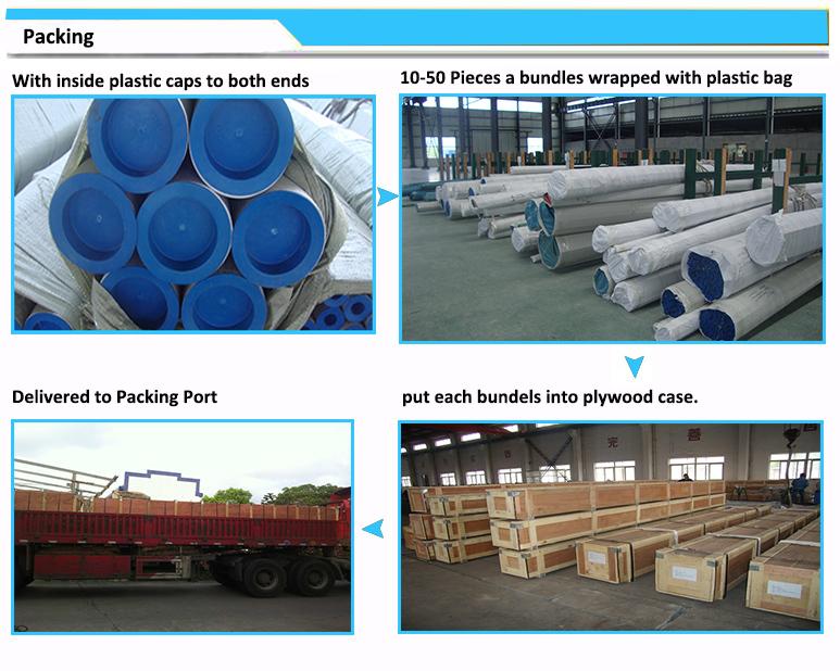 Sch10 - Sch80 304/316L Pickling Stainless Steel Smls Pipe