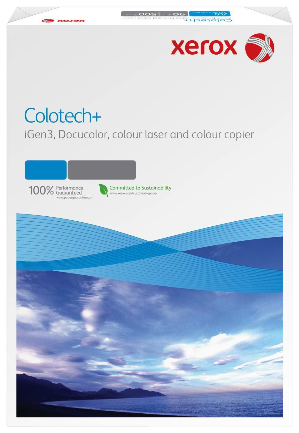 Xerox Colour Tech 003R95838 Premium Colour Laser Printer Paper / Printer Paper / Colour Photocopier Paper / SRA3 90 g/m? Pack of 500 Sheets White