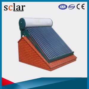 China suppliers solar water heater solar geyser price hot selling in india