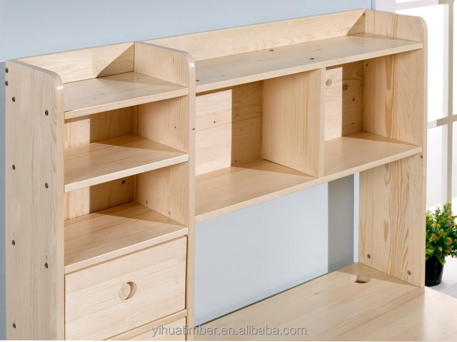 Alta calidad muebles de madera mesa de estudio sala de estudio ...
