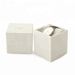 Factory Price Custom Watch Gift Box With Velvet Inserts Packaging