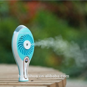 Hot Gift Two-speed wind adjustment usb cooling handheld Humidifier portable water mist fan