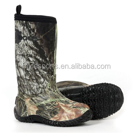 Professional comfortable mens slip resistant cut resistant for Commercial fishing boots