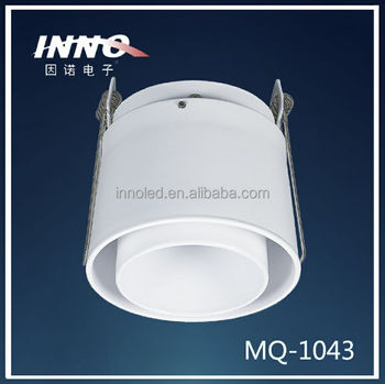 Ceiling Recessed Luminaire Adjustable Frame for Match MR16 Bulbs