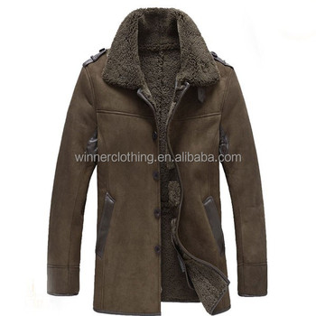 Factory Supply Winter Men S Shearling Coat Shearling Coat For Men